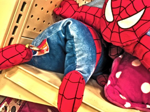 spiderman - turn off the merchandising