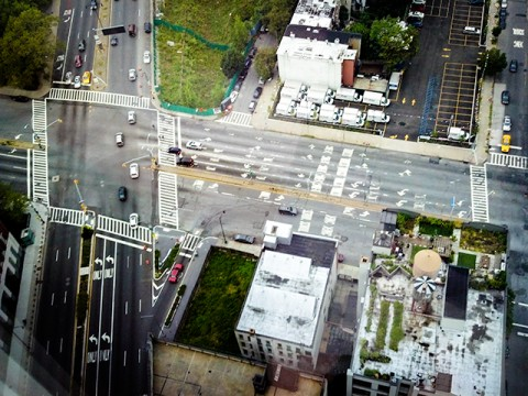 observe traffic patterns