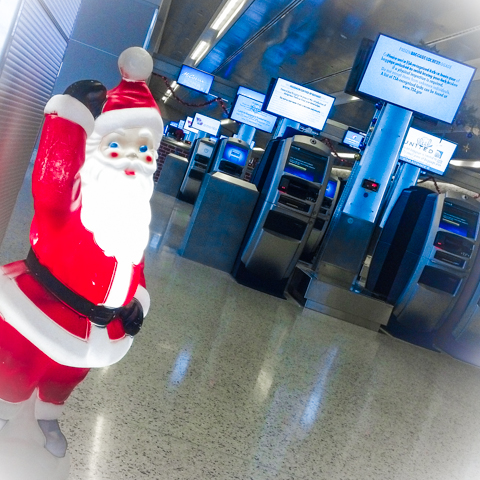 digital airport elves