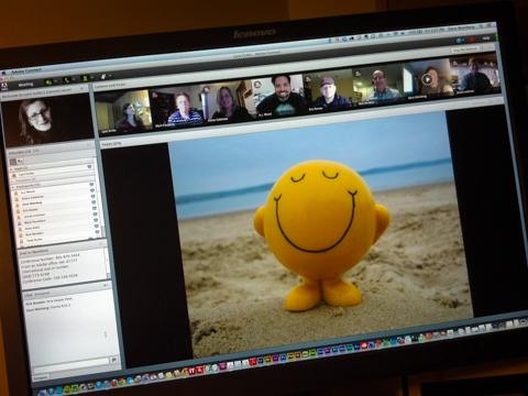 talking heads: adobe digital media solutions consultants, north america, friday all hands team meeting