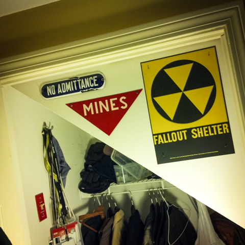 signs of a possible secret bunker