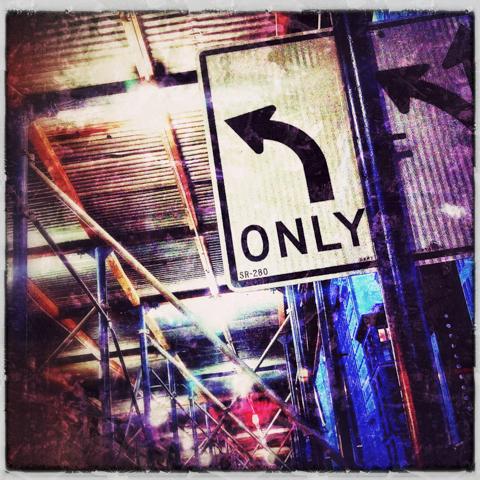 turn here
