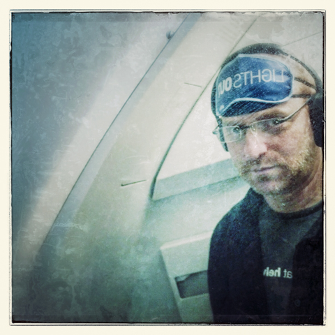 self-portrait @ 35,000' – 1:42 am (PST)