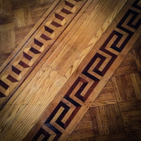 inlaid parkay