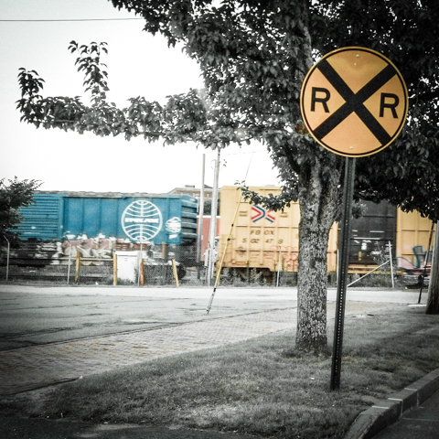 the brand on the other side of the tracks