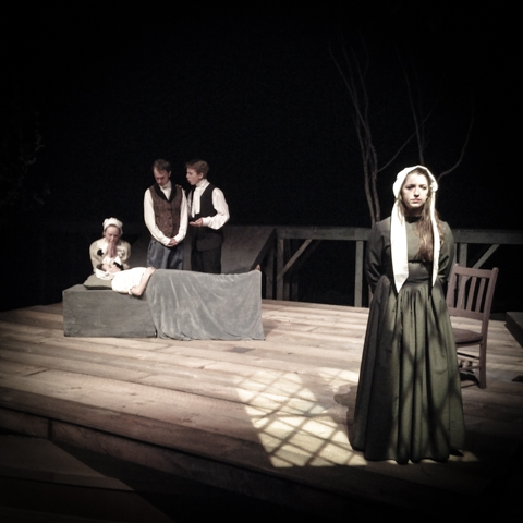 the crucible. opening night. waynflete school.