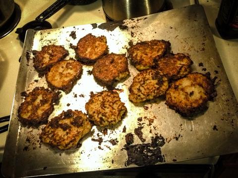 baked latkes