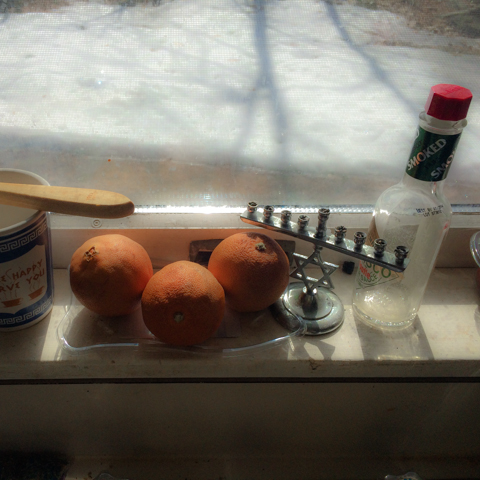 still life while dishwashing
