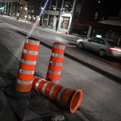 traffic cone sex