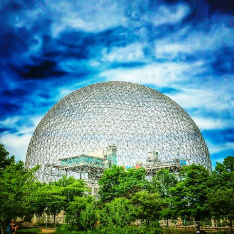 biosphere: parc jean-drapeau, montréal
