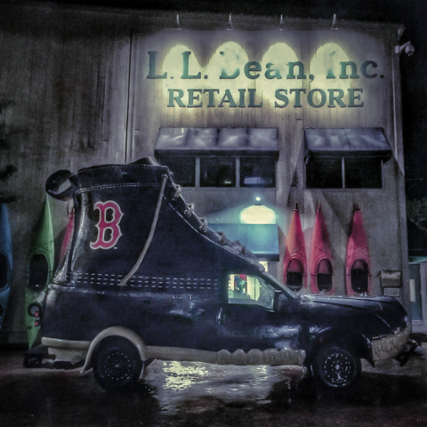 the official red sox bean boot mobile