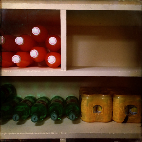 """""""...for one day she hoped to become the 'piet' mondrian of non-alcoholic beverage merchandizing & inventory."""""""