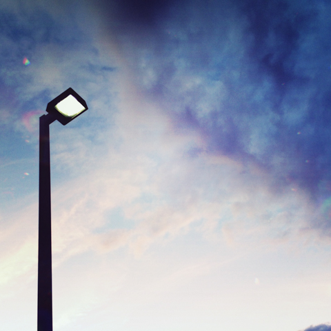 sky. light.