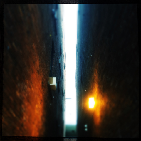 the light at the middle of the alley