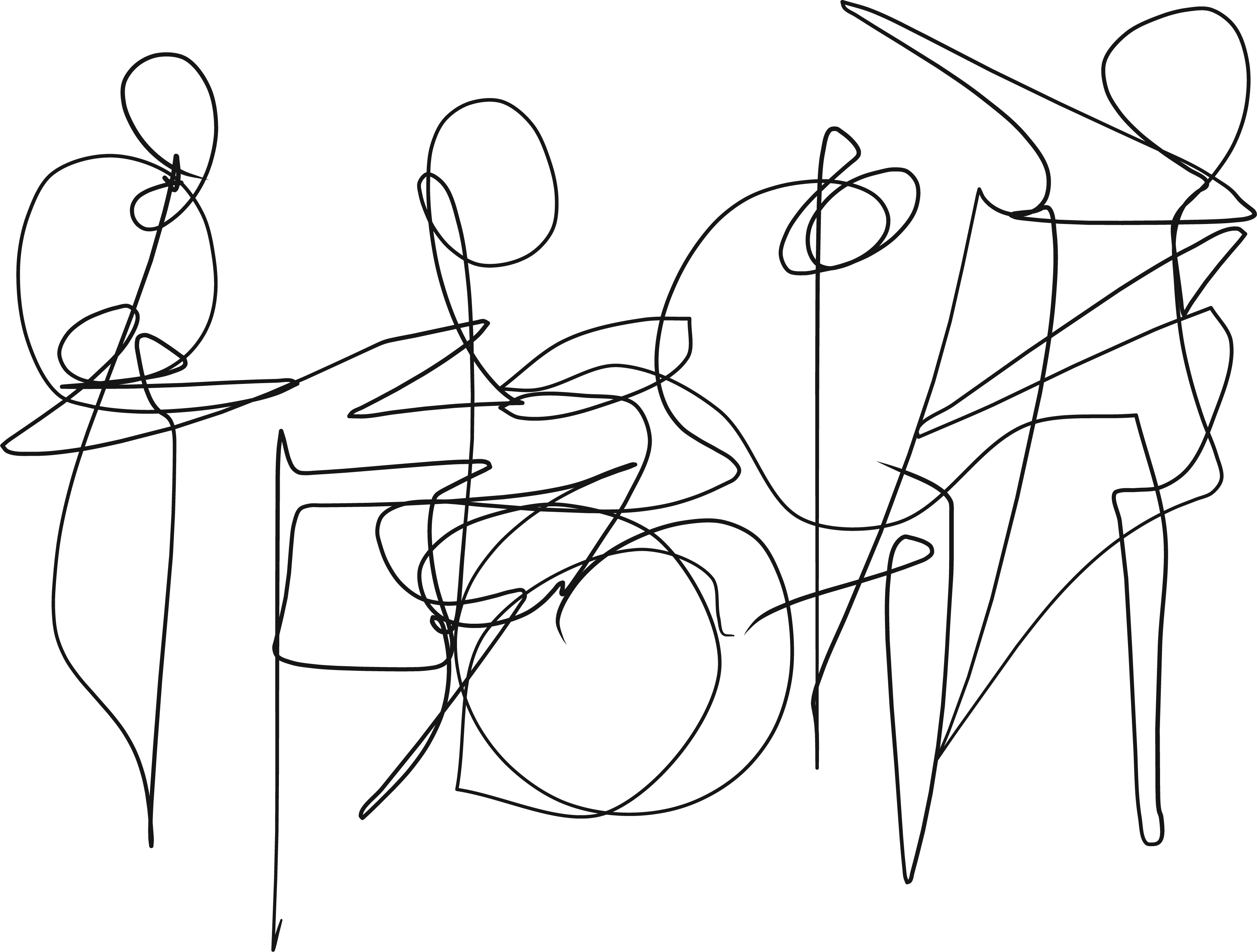 band excerpt - ‪#‎ragingbrassreggae‬ #explorefrontier #adobeDraw #iPhone6 #indexFinger