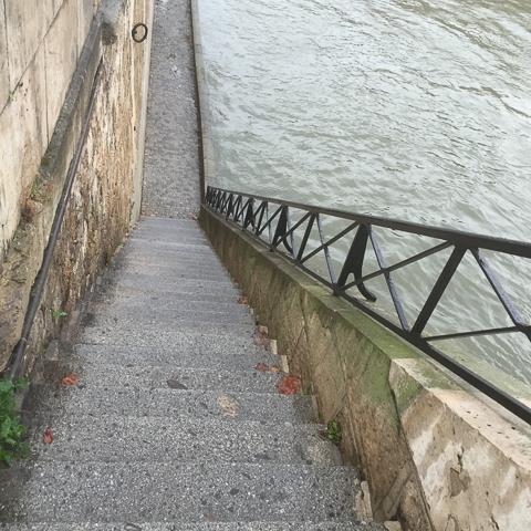 take the steps