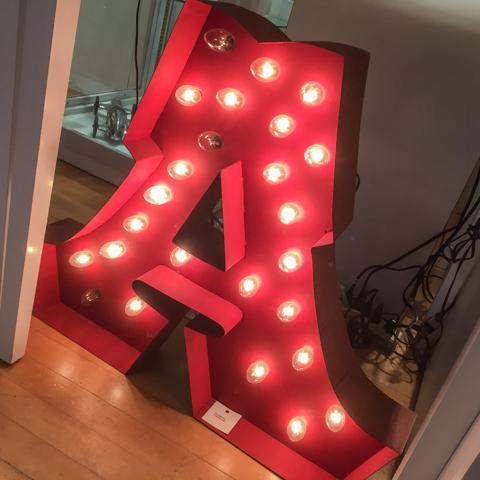 lighting the A
