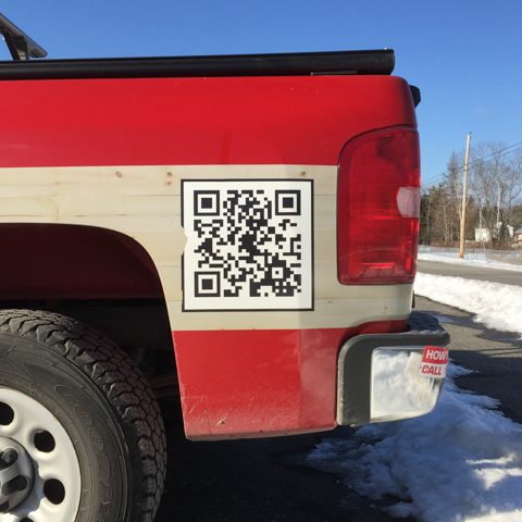 your QR ad here