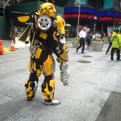 bumblebee on broadway