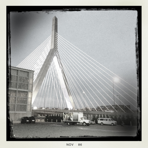 leonard p. zakim bunker hill bridge meets the seven year itch