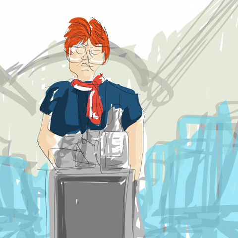 How To Draw Upon The Express Beverage Service At 24 Thousand Feet