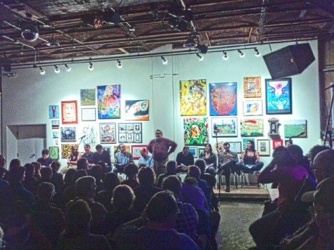 """club 86 of lewsiton, at SPACE gallery, """"...from away"""""""