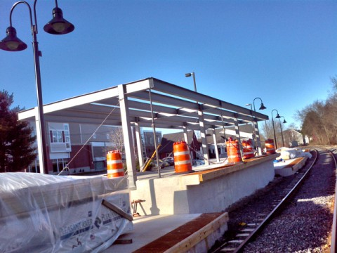 prototype view from the northbound downeaster