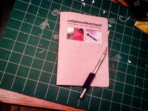 scarified gumbo. a cellphoneSketchpad as sketchbook project - submission deadline 01/15/13