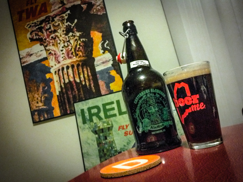 thank you to my fabulous neighbors for this lovely craft  'alter ego alt bier', canterbury ale. cheers!
