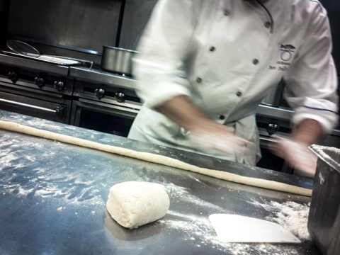 oceana live kitchen demo by chef ben