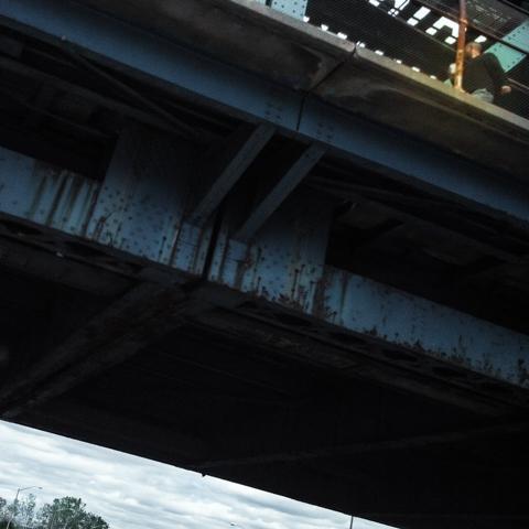 venti meets the roosevelt ave bridge