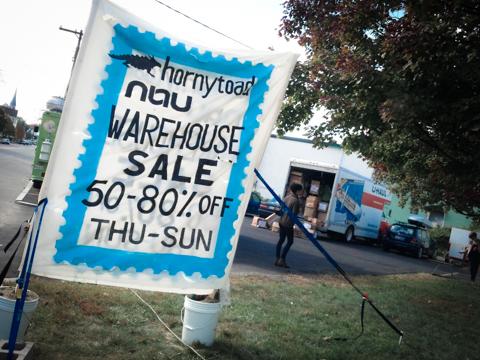 fall warehouse sale, 200 anderson st., portland, maine