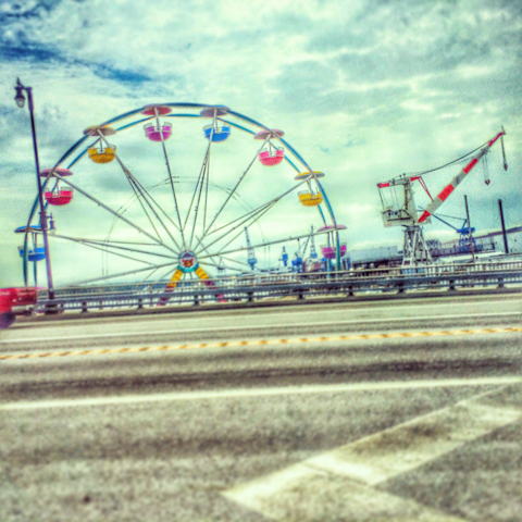 the carnival and the crane