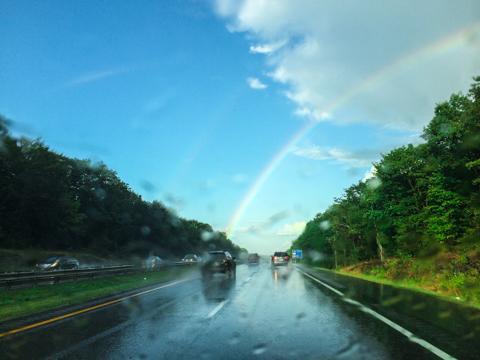 temporary color spectrum, next exit