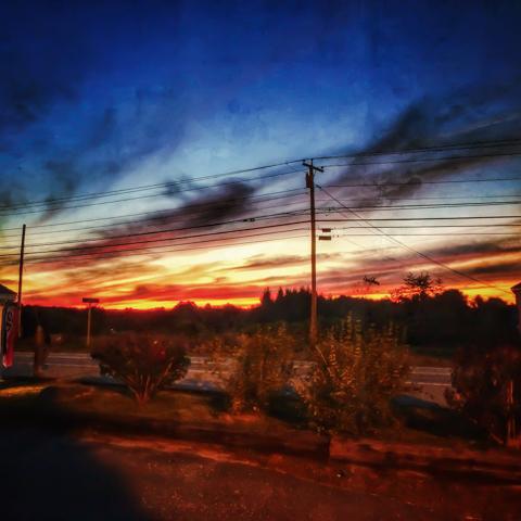 sunset @ conundtrum