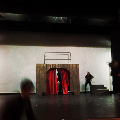 set deconstruction, henry 1/5 - practice for one act drama festiva
