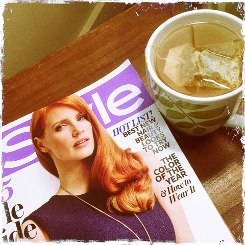 ginger tea and jessica