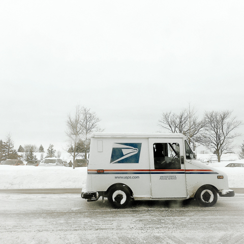 delivery vehicle