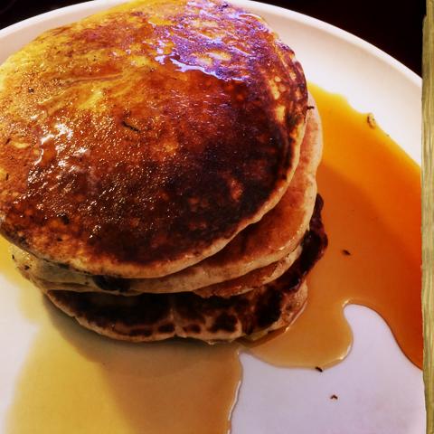 weekend breakfast on a weekday