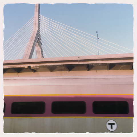 life imitates art. train imitates overpass.