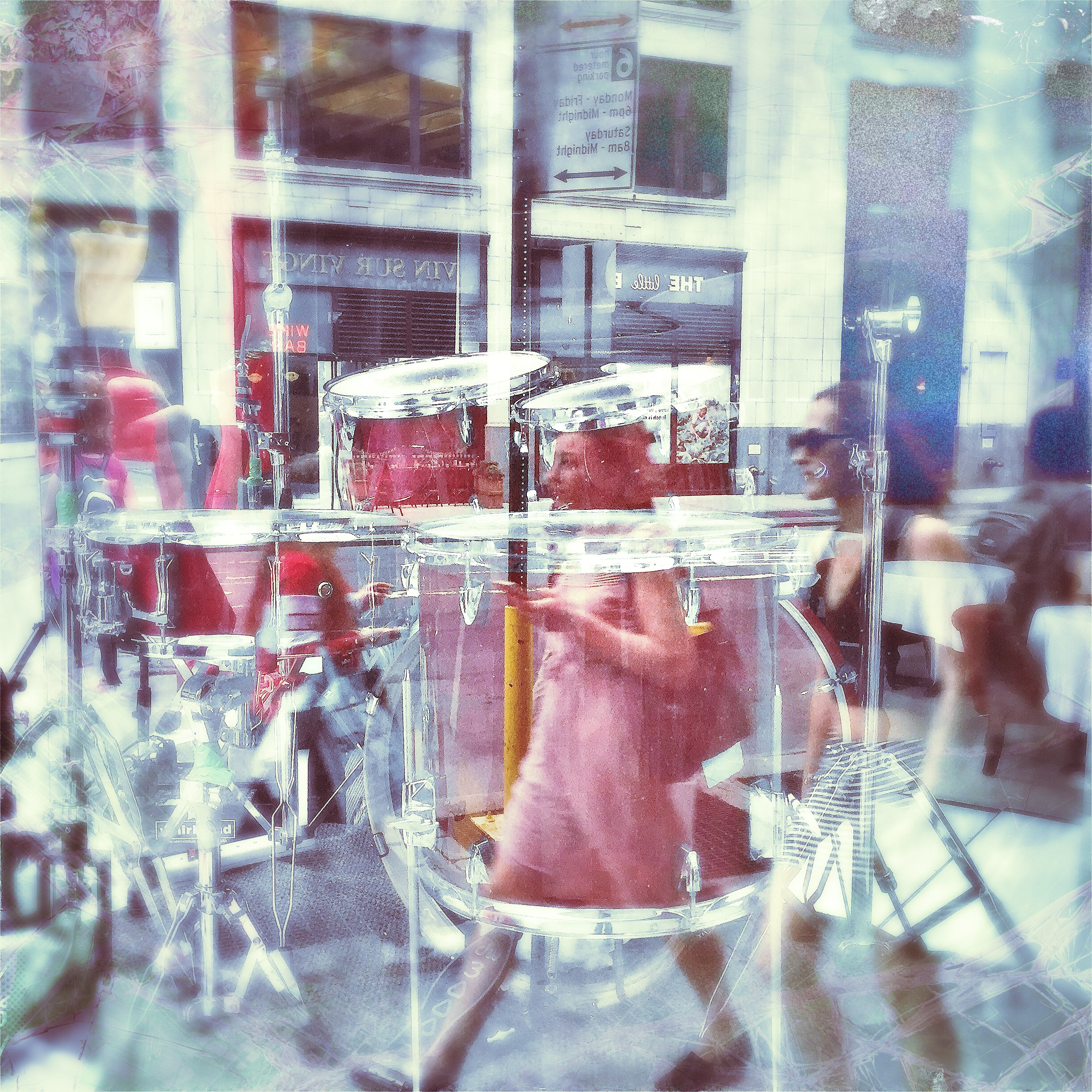 reflections on a drummer