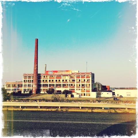 B&M baked beans factory, portland, maine
