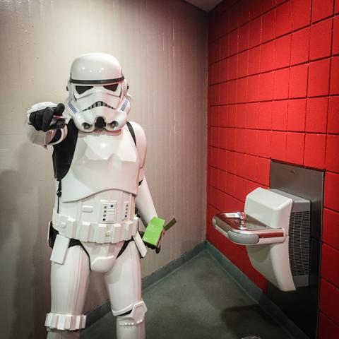 water fountain trooper