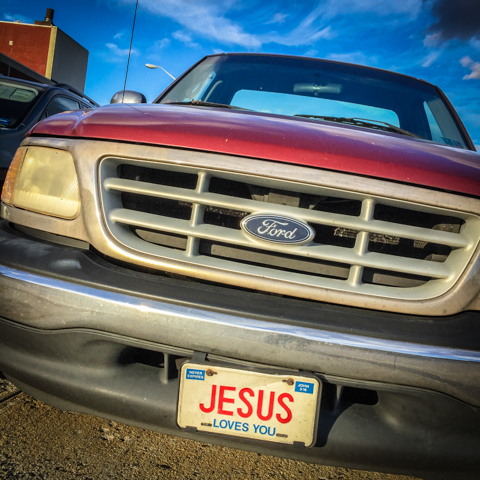 license to evangelize