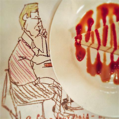 drawn to raspberry cheesecake