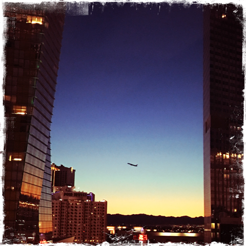airspace from the aria