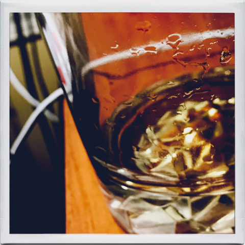 still life with single single malt scotch